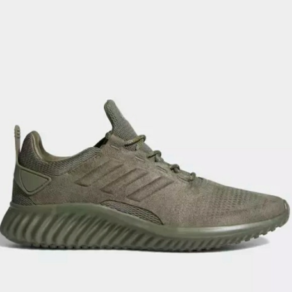 online store 083c9 ec1e5 ADIDAS Alphabounce Army Green Running Sneakers